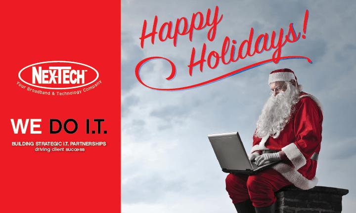 Happy Holidays from Nex-Tech