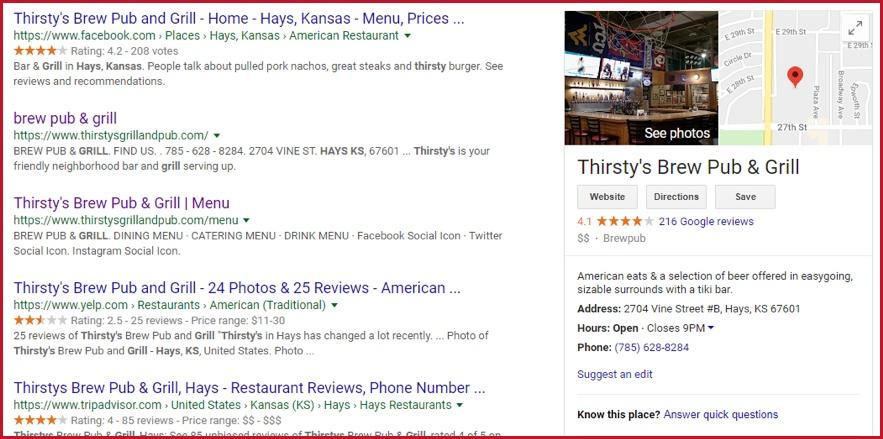 Google Listing 2