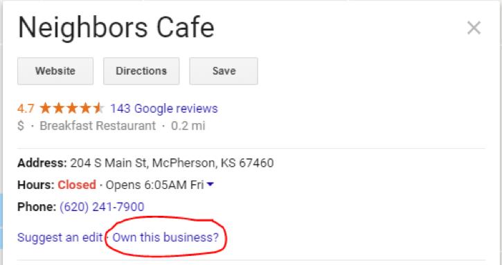 Google Listing 3