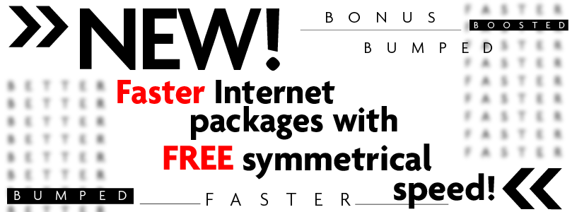 Free Nex-Tech Internet Bump in speed